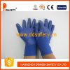 Голубое Nylon с Blue Nitrile Glove-Dnn916