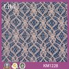 Diamante Design Knitting Lace Fabric per Gartment (KM1228)