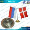 Флаг таблицы классического флага стола ретро с основанием металла (T-NF09M05006)