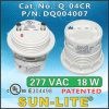 Cfls를 위한 전자 각자 Ballasted Lamp Adapters Used; Q-04cr