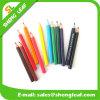 Lápiz promocional coloreado de la hoja de los regalos (SLF-WP037)