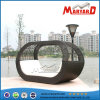 Garten Furniture Rattan Daybed Outdoor Furniture Sunbed auf Sale Hotel Pool Furniture