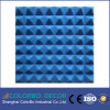 Tarjeta material fonoabsorbente 3D de la pared de la fibra de poliester