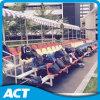 移動可能なアルミニウム観覧席、簡単な土台の屋内折る競技場のシート