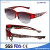 최신 판매 새로운 최신유행 디자인 형식 작풍 빨간 프레임 안경알