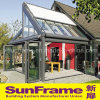 Sunroom en aluminium pendant la vie de loisirs