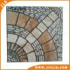 Azulejo de suelo de cerámica del pórtico rústico de piedra antirresbaladizo del material de construcción