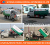 4X2 Rubbish Truck Small Garbage Truck 4X2 Gasoline Garbage Truck