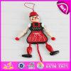 Марионетка шнура brandnew конструкции 2016 деревянная, большинств марионетка игрушки тяги популярного младенца деревянная, марионетка W02A052 игрушки самого лучшего малыша сбывания деревянная