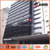 High Building Black Metallic PVDF Aluminum Exterior Wall Panel