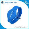 13.56MHz Waterproof o Wristband do silicone de RFID para a piscina