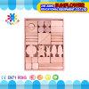 O Desktop de madeira das crianças brinca o enigma de madeira dos blocos de apartamentos desenvolventes dos brinquedos (XYH-JMM10004)