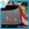 Fábrica impermeável resistente UV da etiqueta da janela de carro diretamente