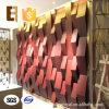 Los paneles de pared acústicos sanos interiores del recubrimiento de paredes del aislamiento del auditorio 3D