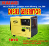 Home Use와 Office Use, Factory Use를 위한 3kw Small Portable Diesel Generator. 좋은 가격!