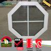 最上質UPVC WindowsのPVC Windowsグリルデザイン映像