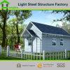 El ahorro de trabajo fácil instala la casa prefabricada de vida del chalet del panel de emparedado