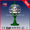 Christmas Gifts Tabletop Snow Globe Lamp with Decorative Snowflake