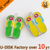Excitador creativo do USB dos falhanços da aleta da praia do verão dos presentes (YT-6245L)