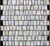 Nuevo llega el mosaico chino único del shell del río