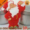 привод вспышки USB Santa Claus подарков рождества 1/2/4/8/16/32/64/128GB (YT-6663L)