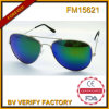 FM15621 novo tipo popular óculos de sol do metal da promoção com a lente azul de Revo