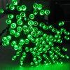 La cadena de hadas solar de los colores multi LED enciende la luz decorativa de la cadena de Navidad