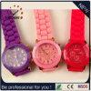 Het Horloge van het Merk van Genève, de Horloges van de Manier van Dames, het Horloge van het Silicone (gelijkstroom-244)