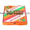 Rectángulo acanalado de la pizza de Kraft del calibrador fino euro del estilo (PB160601)