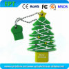Clé de mémoire USB d'entraînement de crayon lecteur de mémoire Flash de forme d'arbre de Noël (par exemple 102)