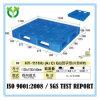 Fornecedor plástico resistente da pálete de 6 corredores 1100*1100
