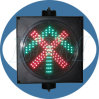 200mm Cross Arrow Signal Traffic Light