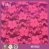 2016 Nuovo stile del tessuto del merletto del fiore di stampa per abito da sposa M1002