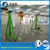 Guindaste de pórtico ajustável de Heigh da roda de sem-fim da alta qualidade do CE ISO9001 (FT3-01)