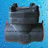 800lb 1500lb 2500lb forjó las válvulas de verificación del acero de carbón A105