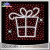 Luz do motivo do Natal da luz da caixa de presente do diodo emissor de luz 2D para o feriado