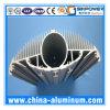 Extrusion en aluminium anodisée par argent industriel de la Chine