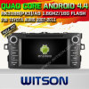 Witson Android 4.4 Car DVD para Toyota Auris 2007-2011 (W2-A6730T) com o Internet DVR Support da ROM WiFi 3G do chipset 1080P 8g