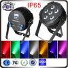 luz de la IGUALDAD de la etapa de 6*15W RGBWA UV+Pink 7in1 LED