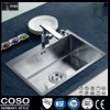 Cupc 세륨 SGS를 가진 H59 Cooper Faucet &304 Stainless Steel Kitchen Sink