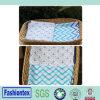 Le sommeil infantile de mousseline de vente de marine de couleurs de couverture chaude de mousseline Swaddle le tissu de mousseline de raie