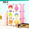 Armário portátil do Wardrobe do armário de armazenamento do bebê