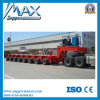 頑丈なEquipment Transport Lowbed Semi Trailer (lowboy) Fo Bridge Construction