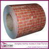 Качество Thickness 0.3-1mm PPGI Stone Brick Colorful Prepaint Steel Coil