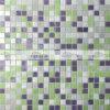 плитка мозаики смешивания 15X15mm Purple&Green плавя стеклянная (BGC019)