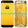 Gele OEM Huisvesting Rear Cover voor Apple iPhone5