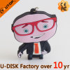 Disque d'USB de dessin animé de forme de M. Big Head Custom Man (YT-6433-56)