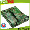 80GSM~160GSM Waterproof o encerado camuflar do PE