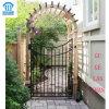La alta calidad hizo la sola puerta labrada 033 del hierro a mano