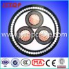 15kv Copper Cable 3X95mm mit Steel Wire Armored